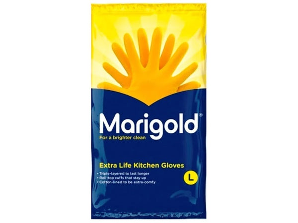 Marigold Kitchen Gloves Extra life Medium