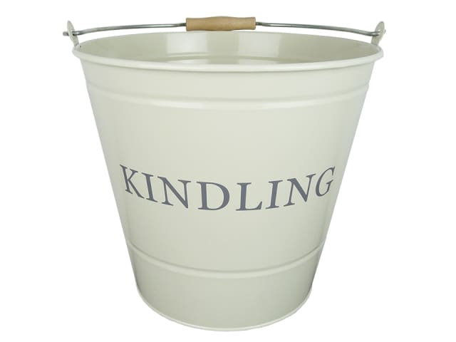 Manor 0348 Cream Kindling Bucket