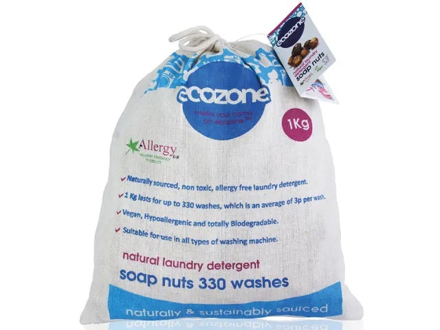 Ecozone Soap Nuts Soap Nuts 330 Washes 1kg SN1KG