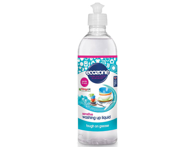 Ecozone Washing Up Liquid Sensitive 500ml WUL2