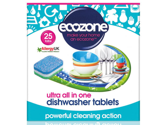 Ecozone DTU25 Ultra All In 1 Dishwasher Tablets x 25
