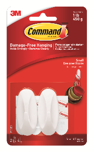 3M Command Designer Small Hooks 17082