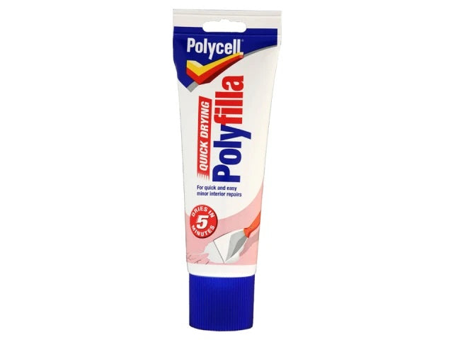 Polycell Quick Drying Polyfilla 330g Tube