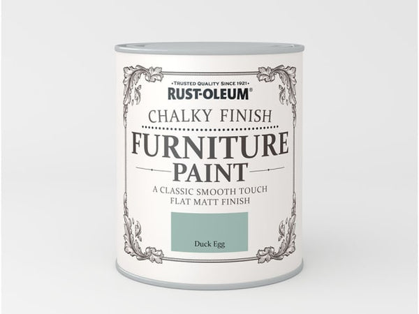 Rustoleum Chalk Furniture Paint Duck Egg 125ml