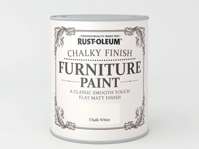 Rustoleum Chalk Furniture Paint Chalk White 125ml