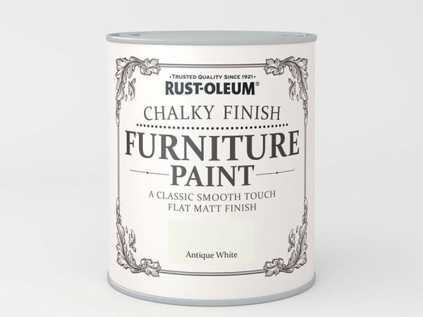 Rustoleum Chalk Furniture Paint Antique White 125ml
