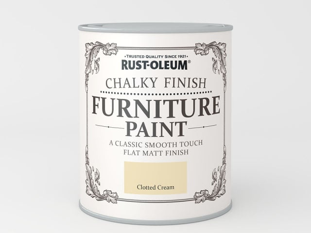 Rustoleum Chalk Furniture Paint Clotted Cream 125ml