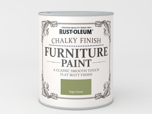 Rustoleum Chalk Furniture Paint Sage Green 125ml