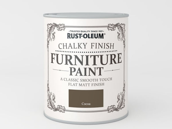 Rustoleum Chalk Furniture Paint Cocoa