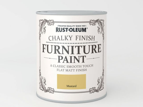 Rustoleum Chalk Furniture Paint Mustard