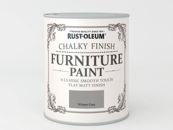 Rustoleum Chalk Furniture Paint Winter Grey 125ml