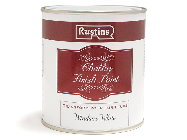 Rustins Chalk Paint Windsor White 500ml