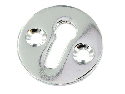 Securit S2944 Victorian Escutcheon Chrome 35mm