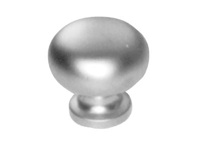 Securit S3511 Oval Cupboard Knob Chrome Plated 35mm