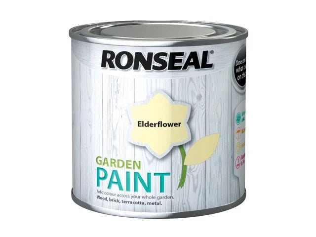 Ronseal Garden Paint Elderflower 250ml 37379