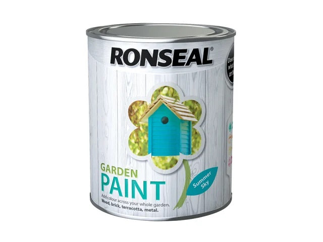 Ronseal Garden Paint Summer Sky 750ml 37416