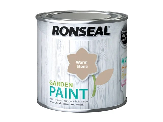 Ronseal Garden Paint Warm Stone 250ml 37596