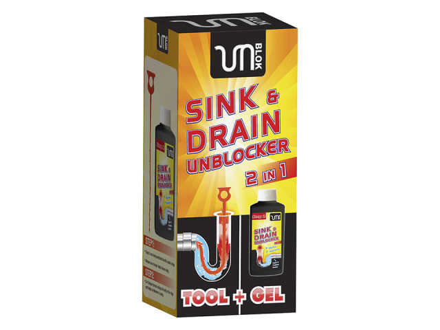 UnBlok 36005 Sink and Drain Unblocker Kit