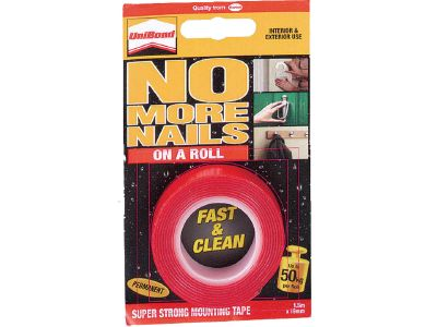 Unibond 1507603 No More Nail Double Sided Tape