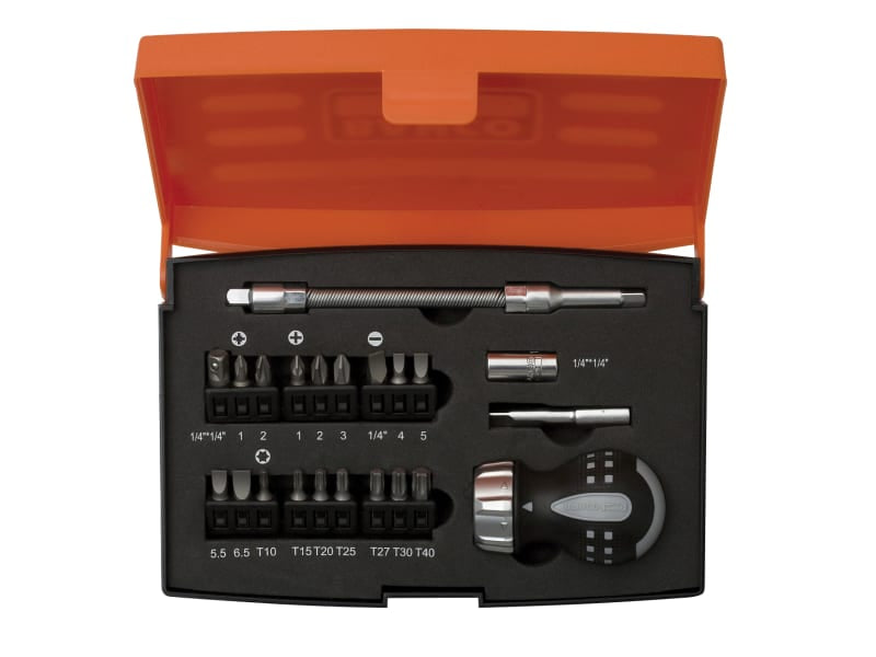 Bahco - Stubby Ratchet Screwdriver Set (22 piece)