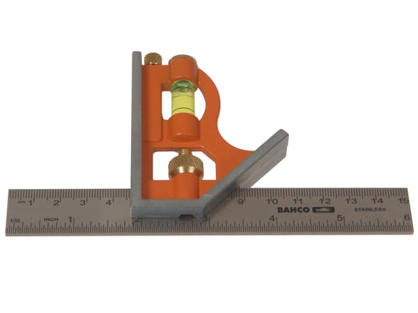 Bahco Combination Square 150mm (6in)