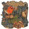 Vivid Arts BS-TP01-F Robin Tree Trunk Planter