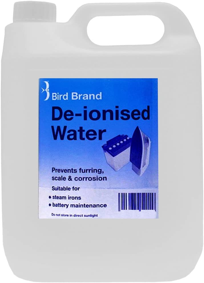 Bird Brand De-ionised Water 5 Litre