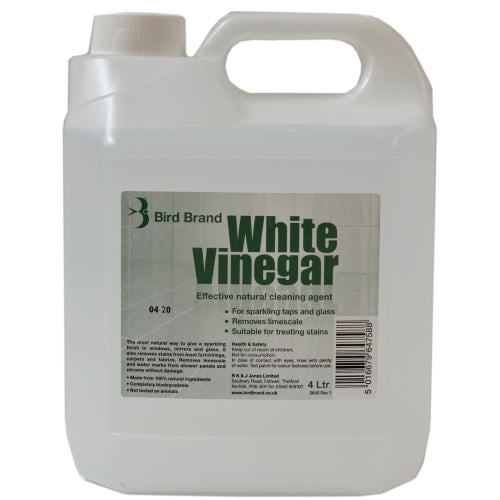 Bird Brand White Vinegar 4 Litre Natural Cleaning Solution