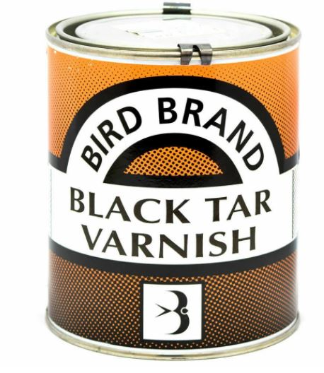 Bird Brand Black Tar Varnish 5 Litre