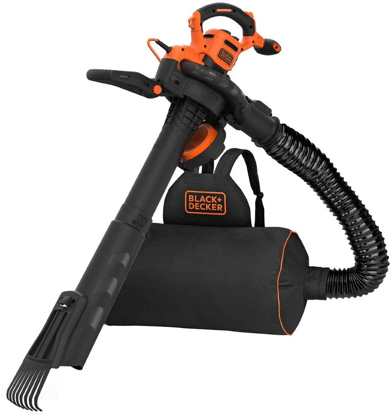 Black and Decker BEBLV301 3 in 1 Backpack Garden Blower Vac 3000W