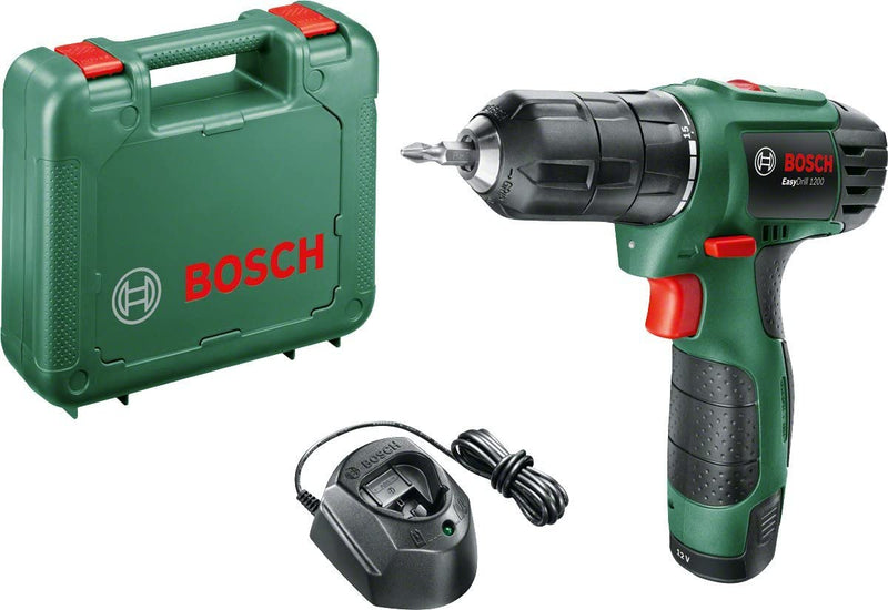 Bosch EasyDrill 1200 Lithium-ion Cordless Two Speed Drill / Driver