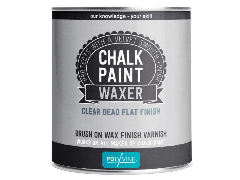 Polyvine Chalk Paint Waxer Dead Flat Finish 500ml