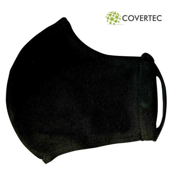 Covertec Face Mask Black
