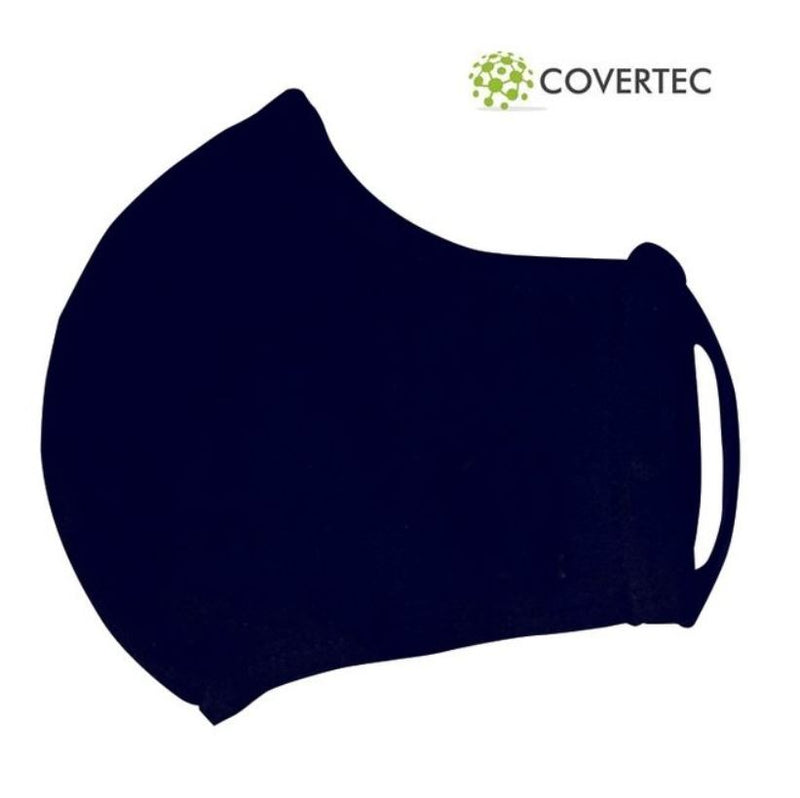 Leecroft Covertec Washable Face Mask Navy