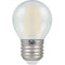 Crompton 7277 Pearl LED Golfball Filament Dimmable 5W 2700K Edison Screw ES-E27 Lightbulb