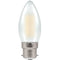 Crompton 7178 Pearl LED Candle Filament Dimmable 5W 2700K BC-B22d Lightbulb