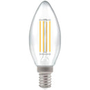 Crompton 7161 Clear LED Candle Filament Dimmable 5W 2700K SES-E14 Lightbulb