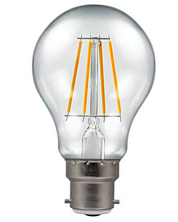 Crompton 4184 Clear LED GL S Filament Dimmable 5W 2700K BC Lightbulb