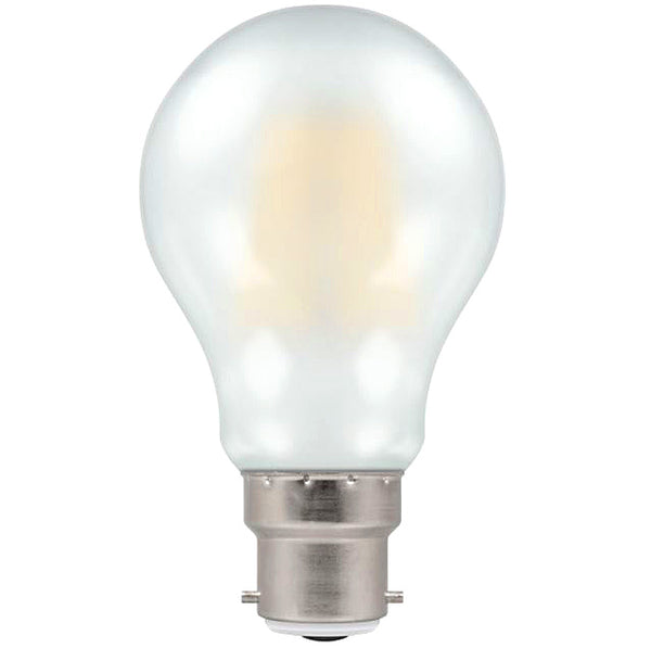 Crompton 5952 Pearl LED GLS Filament Dimmable 7.5W 2700K BC-B22d Lightbulb