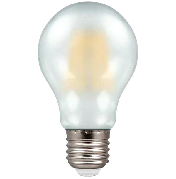 Crompton 5969 Pearl LED GLS Filament Dimmable 7.5W 2700K ES-E27 Lightbulb