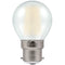 Crompton 7253 Pearl LED Golfball Filament Dimmable 5W 2700K BC-B22d Lightbulb