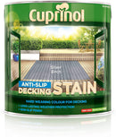 Cuprinol  Anti Slip Decking Stain Silver Birch 2.5 Litre 5122406