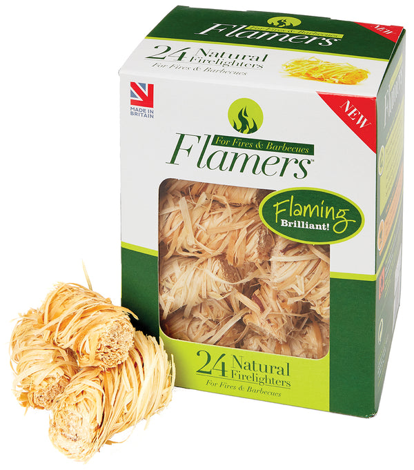 Flamers Natural Firelighters x 24