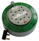 SMJ Home and Garden Cable Reel 4 Socket 10m CT1010