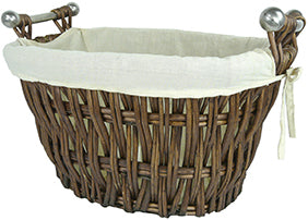 Manor 1338 Bampton Willow Log Basket NORFOLK DELIVERY ONLY
