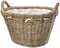 Manor 0388 Rosewood Rattan Log Basket