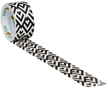 Duck Tape Black and White Diamond 48mm x 9.1m