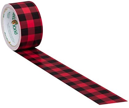 Duck Tape Buffalo Plaid Red and Black Check pattern