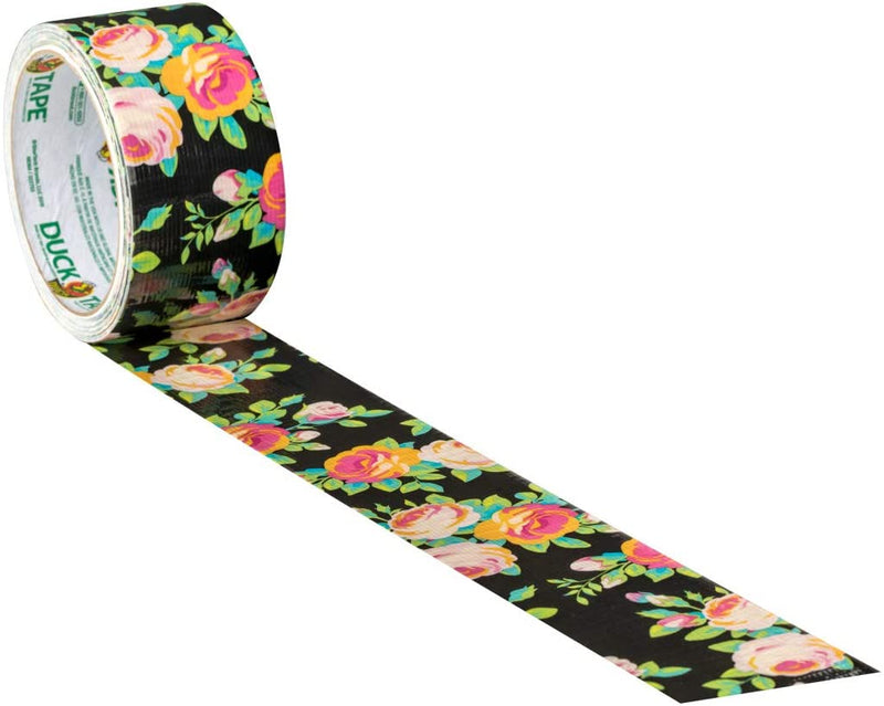 Duck Tape Neon Floral 48mm x 9.1m