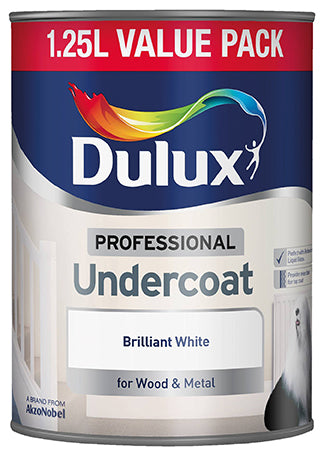 Dulux Pure Brilliant White 1.25 Litres Undercoat